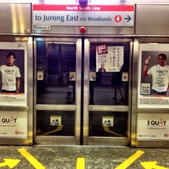Photo taken at Orchard MRT Station (NS22) by Pitt C. on 3/20/2012