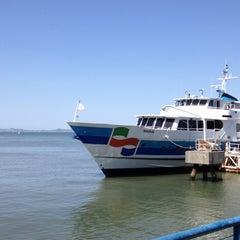 Photo taken at Golden Gate San Francisco Ferry Terminal by Jason S. on 5/5/2012