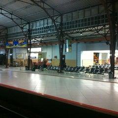 Photo taken at Stasiun Purwokerto by Bagas A. on 8/3/2012