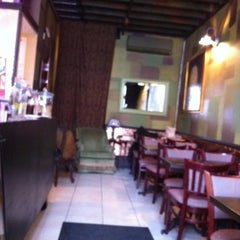 Photo taken at Green Fig Cafe by David K. on 2/25/2012