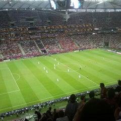 Photo taken at UEFA EURO 2012 Poland / Ukraine by Dominik U. on 6/21/2012