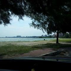 Photo taken at Batu 4 PD Beach by Wilson L. on 5/16/2012