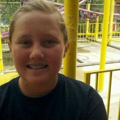 Photo taken at Wild Mouse by Heather C. on 6/6/2012