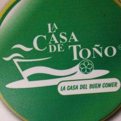 Photo taken at La Casa de Toño by Ruben S. on 3/4/2012
