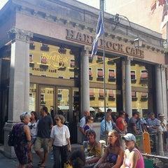 Photo taken at Hard Rock Cafe Venezia by thiago m. on 8/25/2012