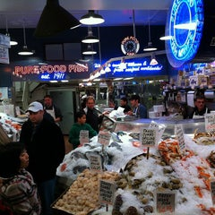 Pure foods fish market pike place seattle wa for Pure food fish market