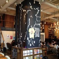 Photo taken at カフェ ゼノン (CAFE ZENON) by Koji S. on 3/19/2012