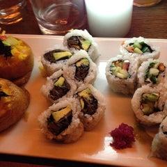 Photo taken at Momo Sushi Shack by nicola m. on 4/1/2012