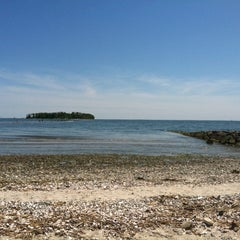 Photo taken at Silver Sands State Park by Ryan on 5/19/2012