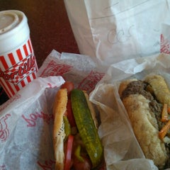 Photo taken at Portillo's by James on 6/7/2012