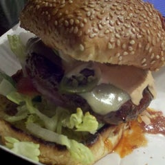 Photo taken at Charm City Burger Company by Mixologista on 3/11/2012