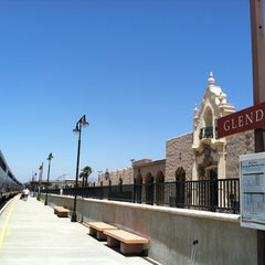 Photo taken at Metrolink Glendale Station by Jackie B. on 7/15/2012