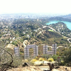 Photo taken at Hollywood Sign by Jeremy R. on 8/26/2012