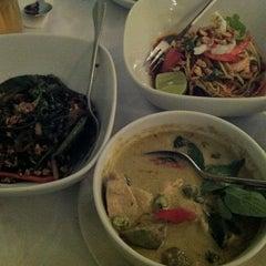 Photo taken at myElephant Thai Restaurant by Desmond on 7/6/2012