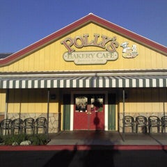 Photo taken at Polly's Pies - Norco by James B. on 4/3/2012