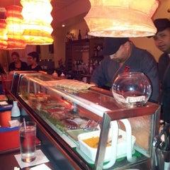 Photo taken at Ikebana Sushi Bar - Escorial by Luis (alidan) O. on 7/28/2012