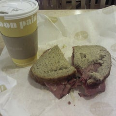 Photo taken at Au Bon Pain by Andrew C. on 9/11/2012