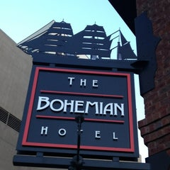 Photo taken at Bohemian Hotel Rocks on the Roof by Carlton M. on 7/23/2012