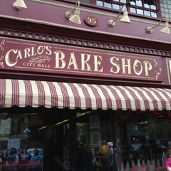 Photo taken at Carlo's Bake Shop by Eli R. on 4/15/2012