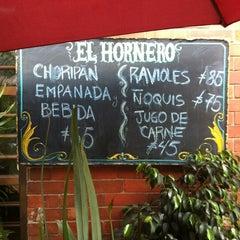 Photo taken at El Hornero Parrilla y Empanadas argentinas by Omar F. on 3/2/2012