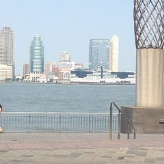 Photo taken at Battery Park City by Michelle B. on 5/26/2012