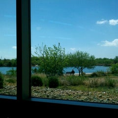 Photo taken at Southeast Regional Library by Jeff C. on 4/11/2012