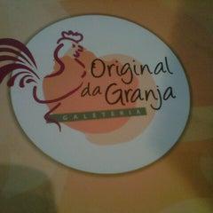 Photo taken at Original da Granja Galeteria by Diego E. M. on 7/19/2012