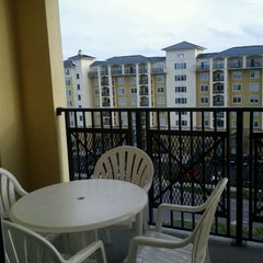 Photo taken at Lake Buena Vista Resort Village & Spa by Tracie M. on 2/19/2012