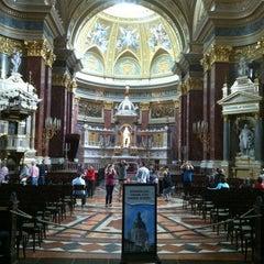 Photo taken at Szent István Bazilika by Andrew L. on 5/8/2012