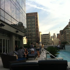 Photo taken at Trump SoHo New York by Carlyn T. on 9/6/2012