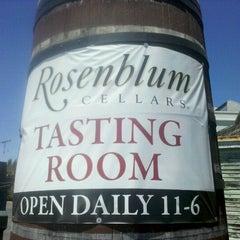 Photo taken at Rosenblum Cellars by akaSpectacular on 6/27/2012