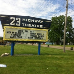 Photo taken at US 23 Drive-In Theater by Eddie T. on 5/25/2012
