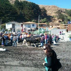 Photo taken at Caleta Duao by Harry M. on 3/4/2012