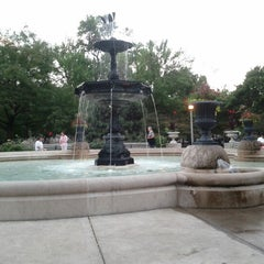 Photo taken at Wicker Park by Cindy S. on 9/3/2012