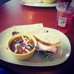 Photo taken at Panera Bread by Reid G. on 4/24/2012