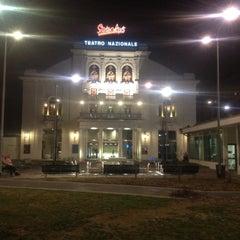 Photo taken at Teatro Nazionale by Thiago M. on 3/4/2012