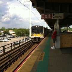 Photo taken at LIRR - Amityville Station by Tony P. on 6/8/2012