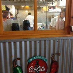 Photo taken at Taco Shack by Leslie M. on 8/24/2012