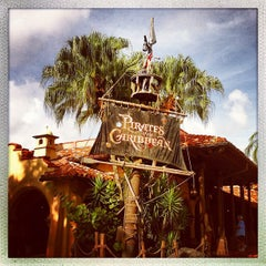 Photo taken at Pirates of the Caribbean by Michael M. on 8/31/2012