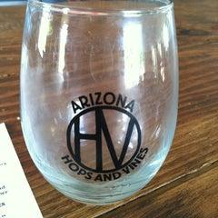 Photo taken at Hops & Vines by Alyssa C. on 7/6/2012