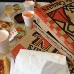 Photo taken at Little Caesars Pizza by Mike M. on 7/15/2012