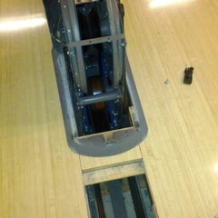 Photo taken at Arlington Lanes by Andrew G. on 2/21/2012