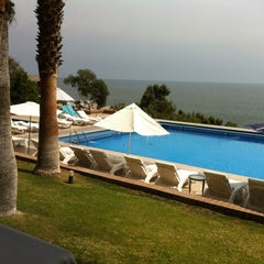 Photo taken at Radisson Hotel Iquique by Carolina S. on 8/31/2012