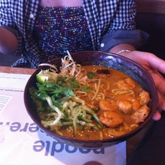 Photo taken at Wagamama by Adrián E. on 8/12/2012