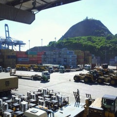 Photo taken at TVV - Terminal de Vila Velha by Felipe N. on 6/13/2012