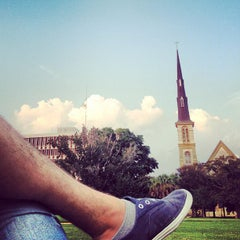 Photo taken at Marion Square by Matthew R. on 8/1/2012