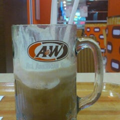 Photo taken at A&W by Jonathan C. on 4/25/2012
