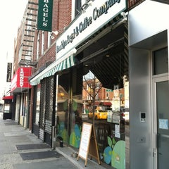 Photo taken at Brooklyn Bagel & Coffee Company by @AstoriaHaiku on 3/23/2012