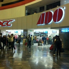 Photo taken at Terminal de Autobuses de Pasajeros de Oriente (TAPO) by Jorge F. on 8/3/2012