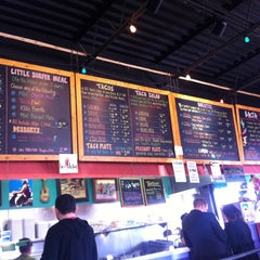 Photo taken at Baja Burrito by Matthew C. on 3/5/2012
